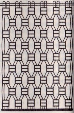 Как сплести кармашек для расчесок на стену в макраме? Схема плетения кармана для расчесок.