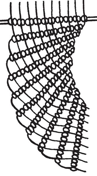 Колье «Павлин»: схема и методика плетения в макраме