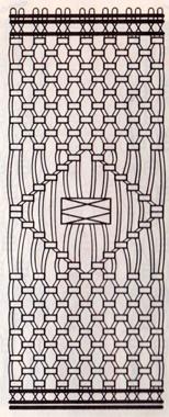 Как сплести коврик в макраме? Схема плетения коврика в макраме.