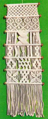 Как сплести декоративное панно на стену в макраме? Схема плетения панно на стену техникой макраме.