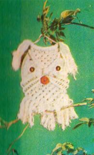 Сова, как сплести в макраме? Подробная схема плетения совы.